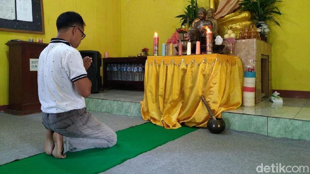 Hormati Muslim, Umat Buddha di Ponorogo Tunda Silaturahmi Waisak