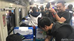 Seorang WNA Penumpang Kereta di Jember Bingung Saat Disweeping Polisi