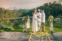 Ilustrasi pernikahan di Bali