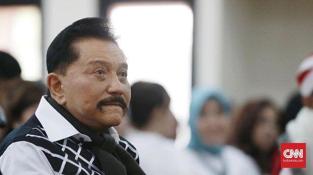 Ma'ruf Amin Hadiri Acara Purnawirawa TNI Inisiasi Hendropriyo