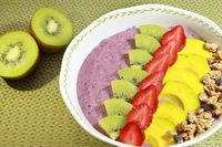 Resep smoothies bowl.