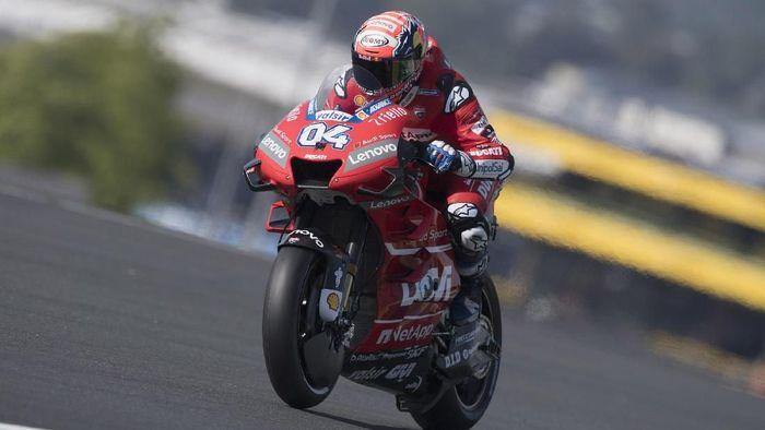Andrea Dovizioso finis kedua di MotoGP Prancis. (Foto: Mirco Lazzari gp/Getty Images)