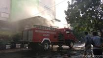 Kebakaran Pasar Kosambi Diduga Berasal dari Kios Pedagang Kelapa