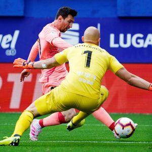 Eibar vs Barcelona: Messi Dua Gol, Barca Imbang di Pekan Terakhir Liga Spanyol