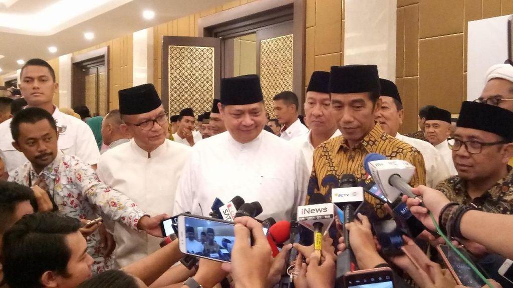 Jokowi-Maruf Amin Menang, Cinta Laura hingga Addie MS Ucapkan Selamat
