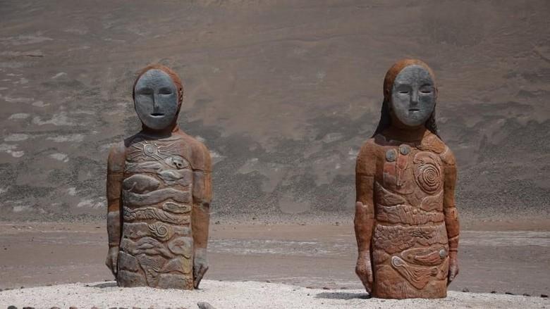 Mumi tertua yang ditemukan di Chile.