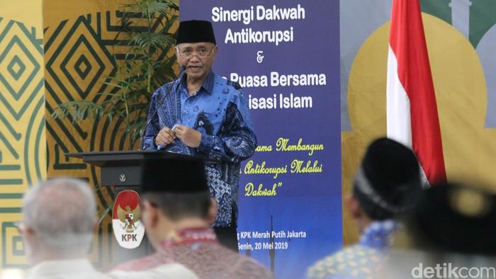 Ketua KPK Agus Rahardjo (Foto: Ari Saputra-detikcom)