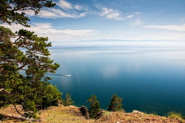 Foto Inilah Danau Terdalam Di Dunia