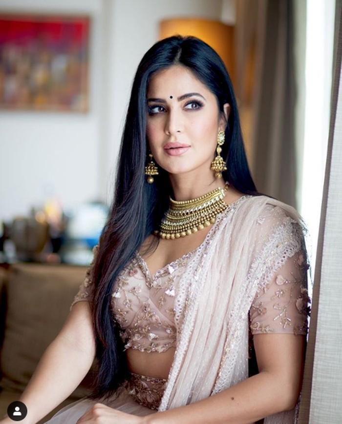 Katrina Kaif, aktris India.