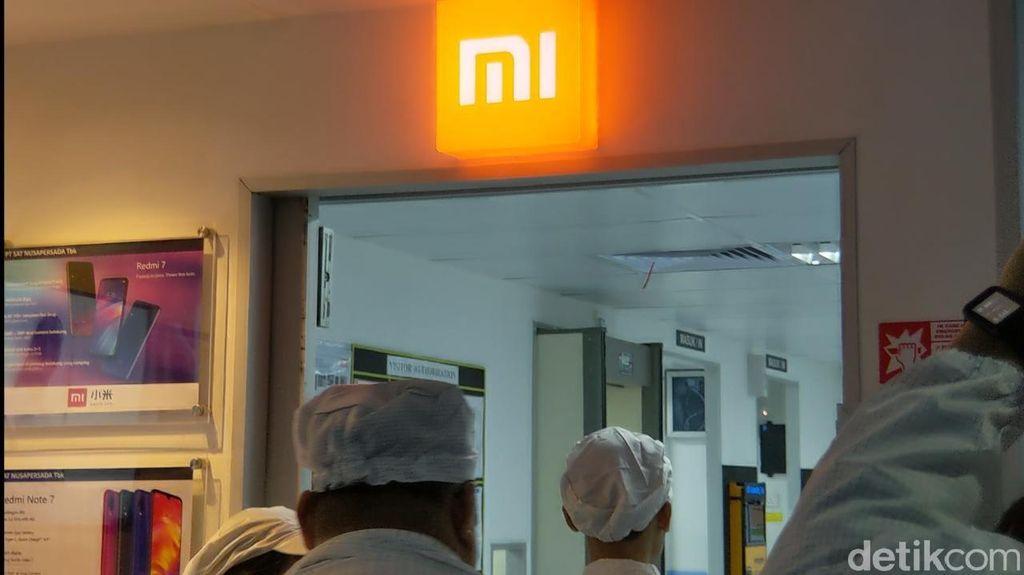 Perangkat Xiaomi dibuat di gedung 3. (Foto: Adi Fida Rahman/detikINET)