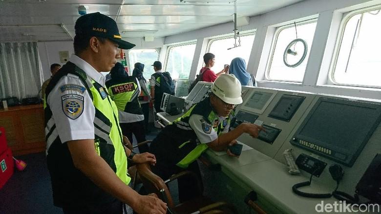 Kemenhub Uji Kelayakan dan Kesiapan Kapal di Pelabuhan Merak