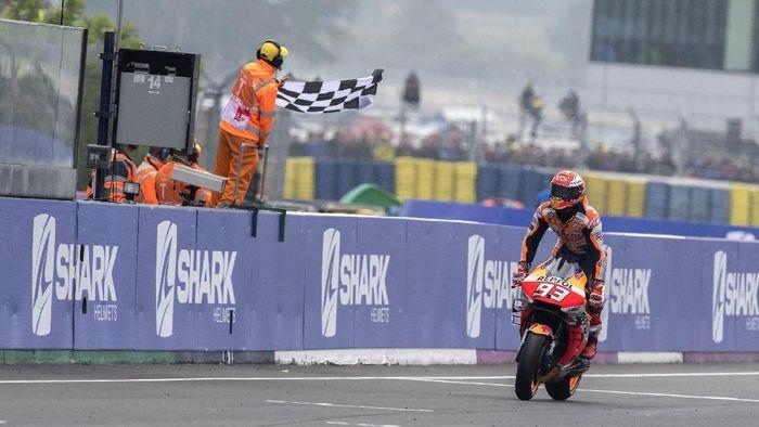 Marc Marquez juara MotoGP Prancis. (Foto: Mirco Lazzari gp/Getty Images)