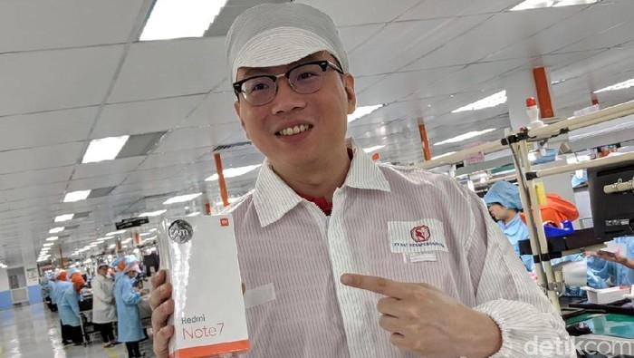 Steven Shi. Country Manager Xiaomi Indonesia. Foto: Adi Fida Rahman/detikINET