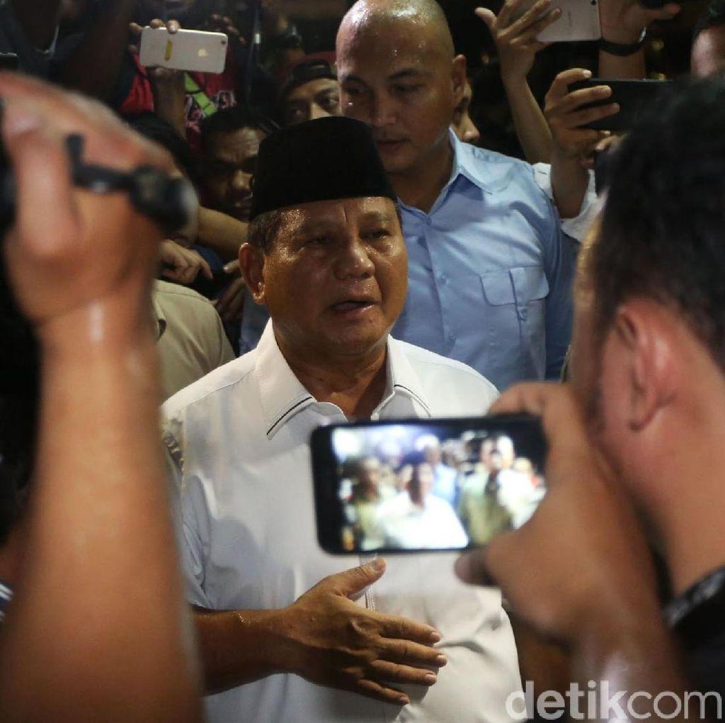 Video Rombongan Prabowo Ditolak Jenguk Eggi-Lieus di Polda