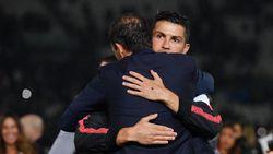 Ucapan Terima Kasih Ronaldo untuk Allegri