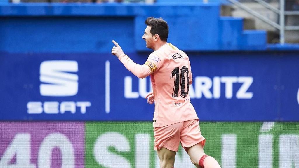 Final Copa del Rey: Kontribusi Messi Meski Sedikit Bakal Tetap Bahaya
