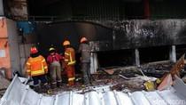 40 Jam Api Belum Padam, Pasar Kosambi Tak Punya Proteksi Kebakaran