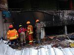 Sempat Padam, Api Kembali Muncul di Pasar Kosambi Bandung