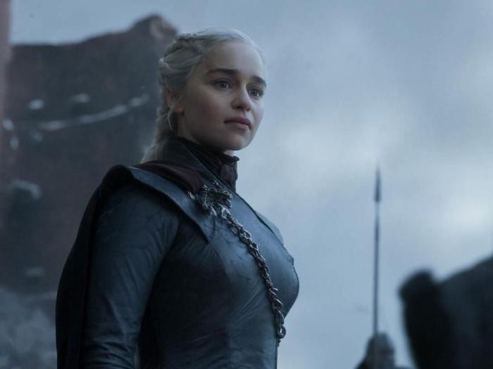 Cuplikan episode terakhir Game of Thrones.