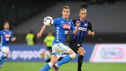 Hasil Liga Italia: Napoli Hajar Inter 4-1