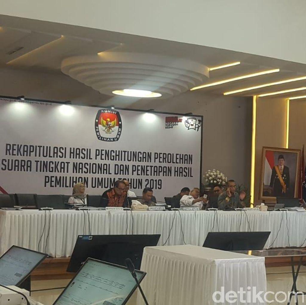 Rekapitulasi Nasional Maluku: Jokowi-Maruf Unggul 200 Ribu Suara