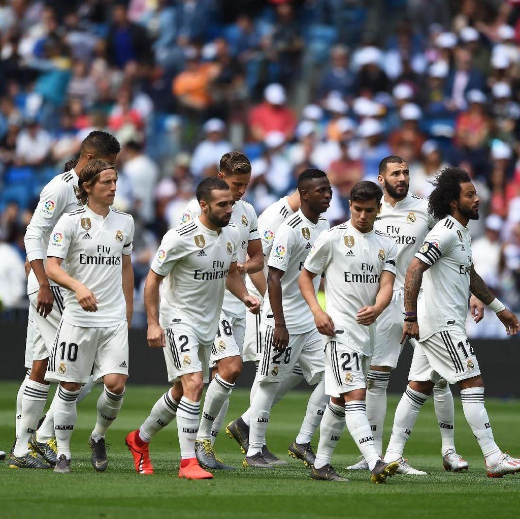 6 Rekor Buruk Real Madrid di Musim yang Suram