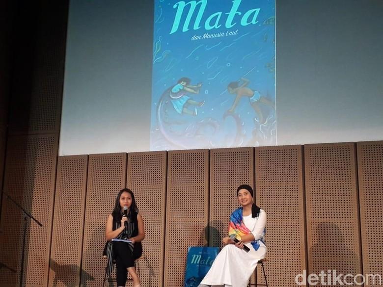 Kekuatan Mitos hingga Imajinasi di Balik Novel Mata dan Manusia Laut Foto: Tia Agnes/ detikHOT