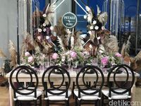Dekorasi pernikahan di Bali
