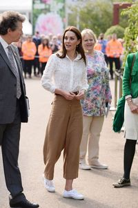 Kate Middleton di Chelsea Flower Show 2019.
