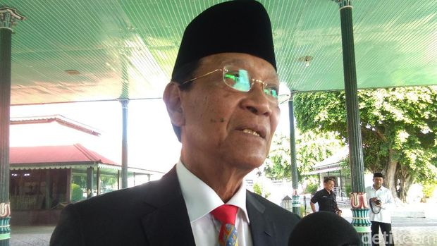 Sri Sultan Hamengku Buwono X.