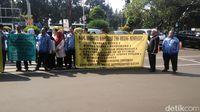 Karyawan Kominfo demo tuntut pertanggungjawaban dana koperasi
