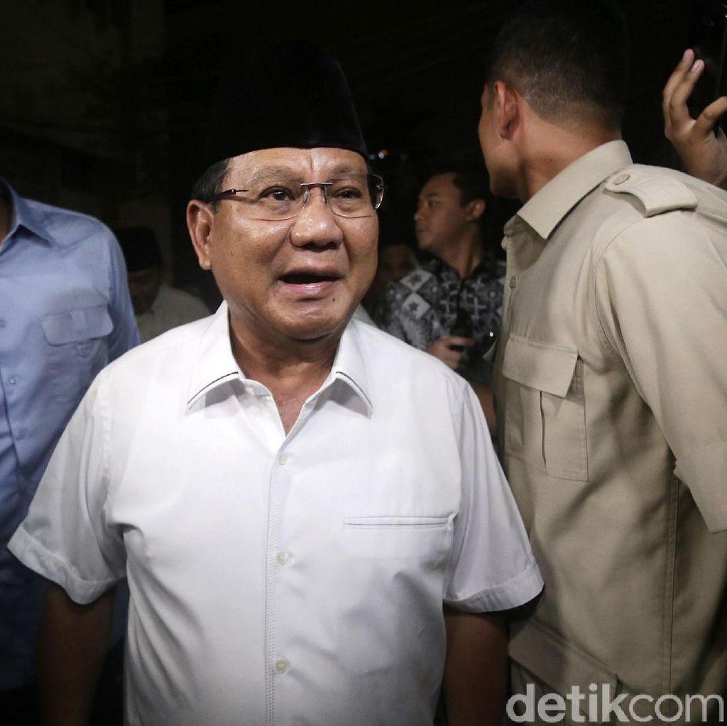 Pernyataan Lengkap Prabowo Minta Massa Percaya Perjuangan Konstitusional