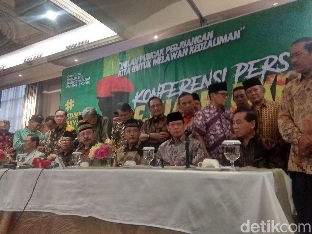 Lieus-Eggi Ditahan, Purnawirawan Pro-Prabowo Bantah Rencana Makar