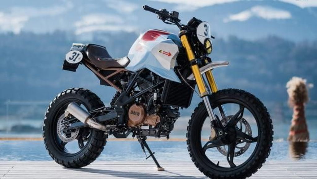 Modifikasi Cingkrang BMW G 310 GS