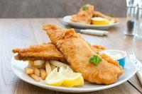 Resep fish and chips untuk menu bekal suami.