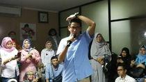 Tanggapi TKN, Sandi: Saya Yakin Bachtiar Nasir Berkomitmen Pancasila