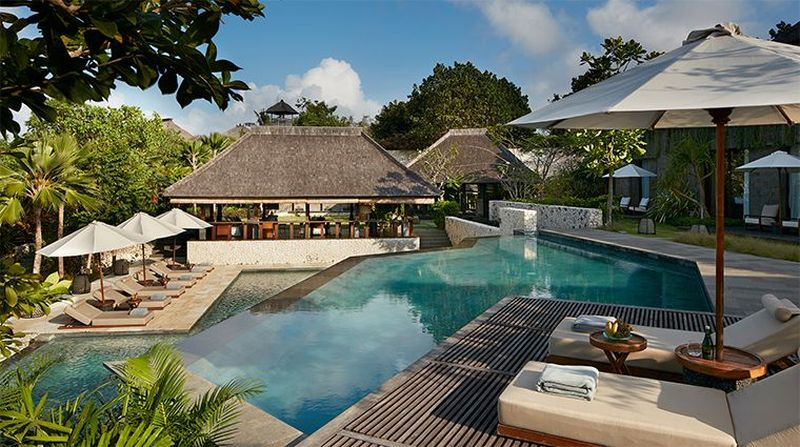 Berlokasi di Uluwatu, Hotel Bulgari Resort Bali jadi satu-satunya dari Indonesia yang berhasil meraih status sebagai kamar hotel terbaik tahun 2019 (Hotel Bulgari Resort Bali)