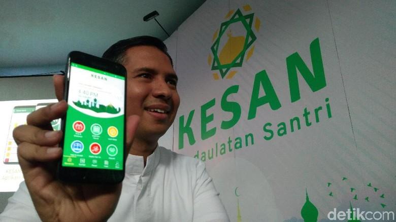 Kesan, Aplikasi Islami Memudahkan Santri untuk Belajar