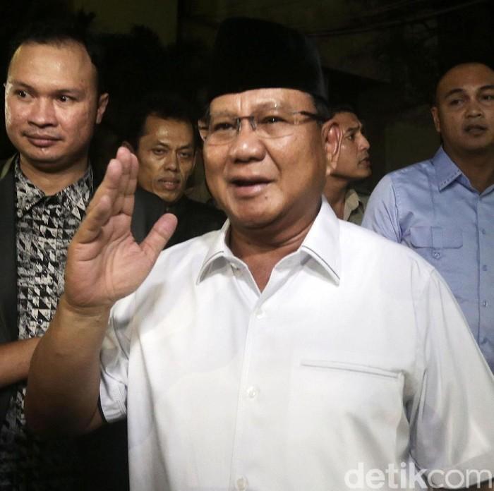 Prabowo Subianto (Agung Pambudhy/detikcom)