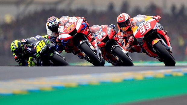 Rossi Pasrah Yamaha Tak Mampu Bersaing