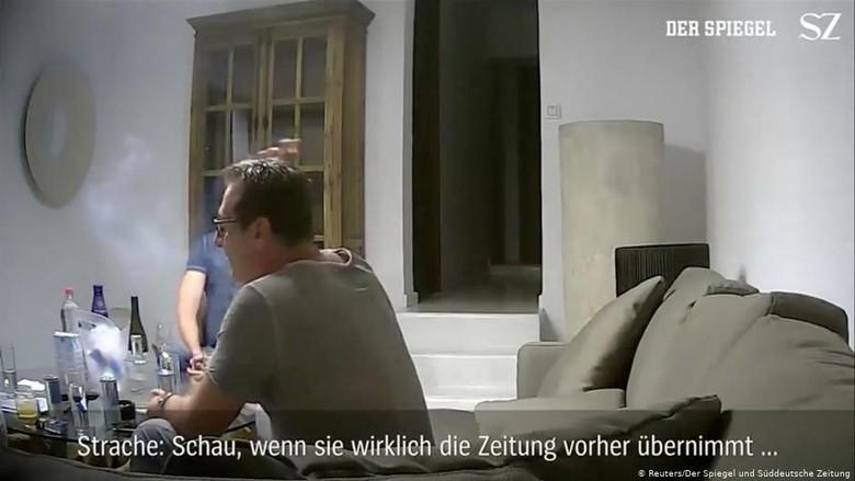 Tersangkut Skandal Video di Tempat Liburan, Wakil Kanselir Austria Mundur