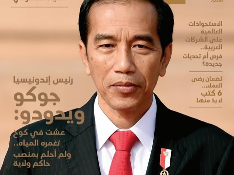 Image result for jokowi majalah milenial arab saudi
