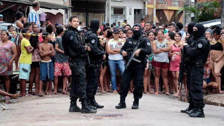 11 Orang Tewas dalam Penembakan Brutal di Bar Brasil