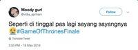 Twitter netizen indonesia tentang GOT