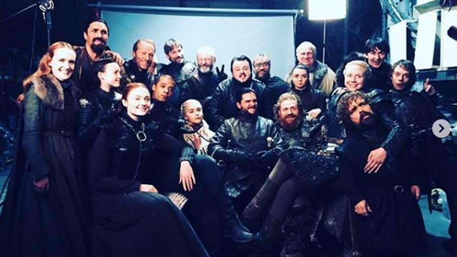 Kebersamaan Para Cast Game of Thrones di Luar Syuting