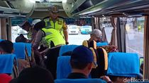 Cegah Aksi 22 Mei, Polres Madiun Sweeping Tol Ngawi-Saradan