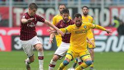 Hasil Liga Italia: Milan Tundukkan Frosinone 2-0