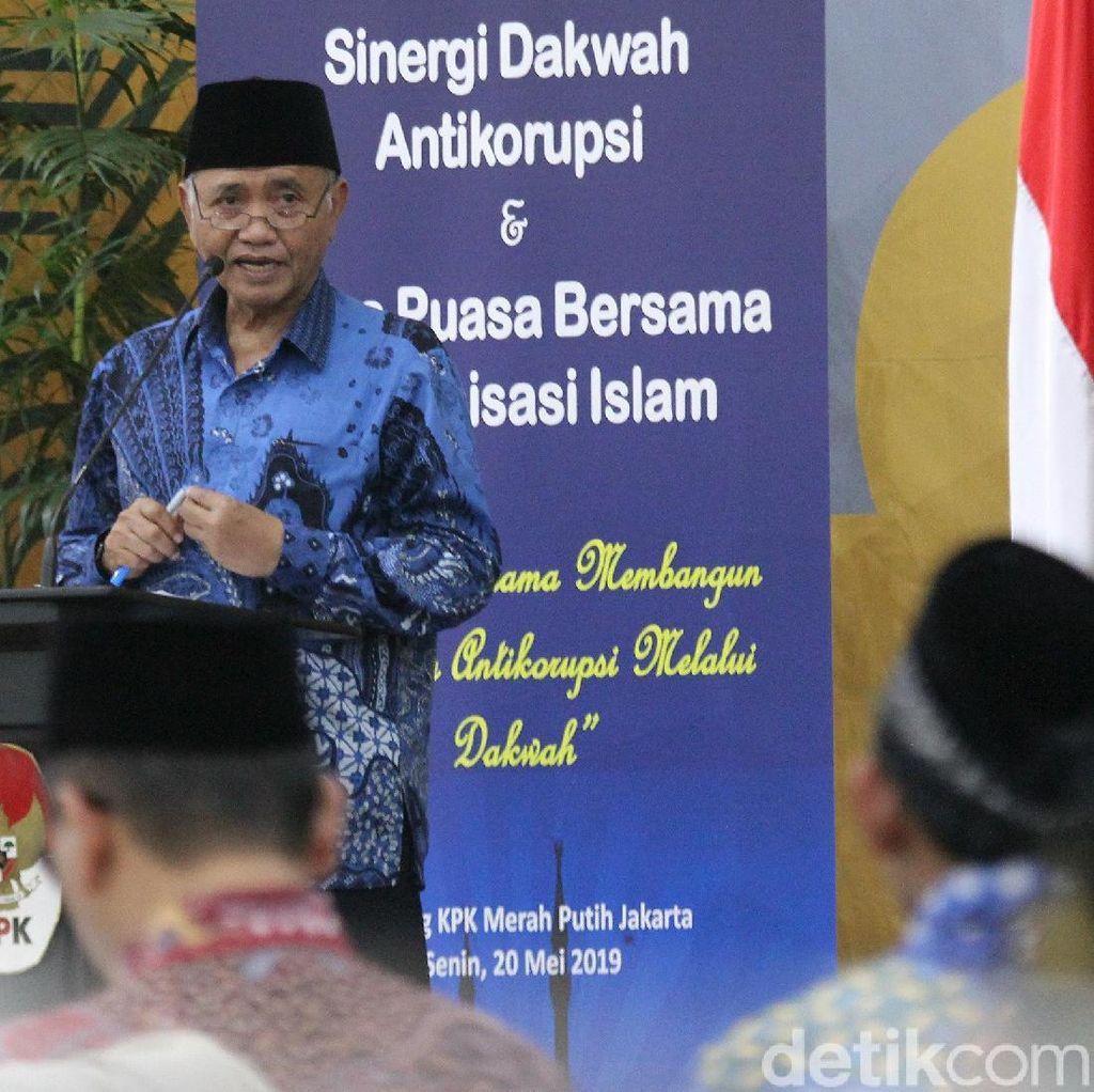 KPK-Perwakilan Ormas Islam Bahas Bahaya Korupsi