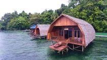 Bukan di Maldives, Ini Resort di Raja Ampat