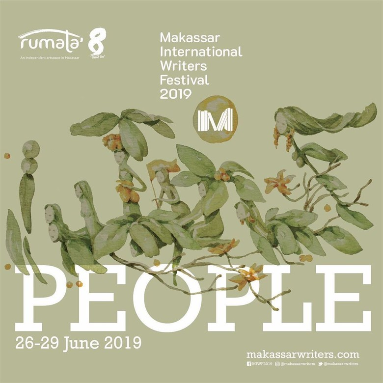 Makassar International Writers Festival 2019 Bertemakan Rakyat dan Pemilu Foto: MIWF/ Istimewa